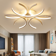 LED Ceiling Lights post-Modern living room lamps creative Nordic novelty Flower bedroom fixtures restaurant Ceiling lighting post modern living room ceiling lights creative nordic ceiling lamps led study fixtures warm master bedroom ceiling lighting