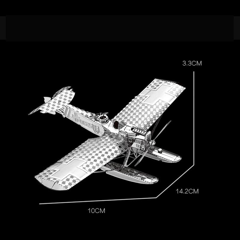 Nanyuan 3D Metal Puzzle Hansa Brandeburg W29 - ფაზლები - ფოტო 2