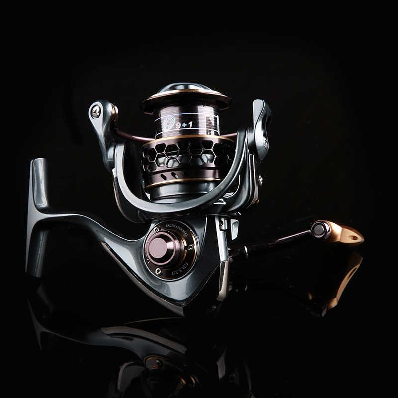 TSURINOYAJaguar loạt 3000 đôi spool siêu ánh sáng 9 + 1 Ball Bearing lure reel spinning reel cá reel Mồi câu cá reel