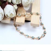 Bohemian luxury Kristall bracelet green Schmuck bracelets Anhänger Kette gift Strand Geschenk Stein