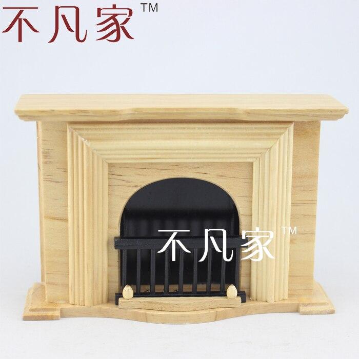 Fireplace Cardboard model kit Doll furniture Scale 1//12.
