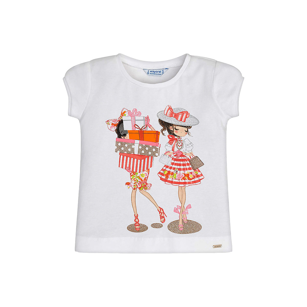 T-Shirts MAYORAL 10681406 Children sClothing T-shirt with short sleeves polo shirt for boys and girls