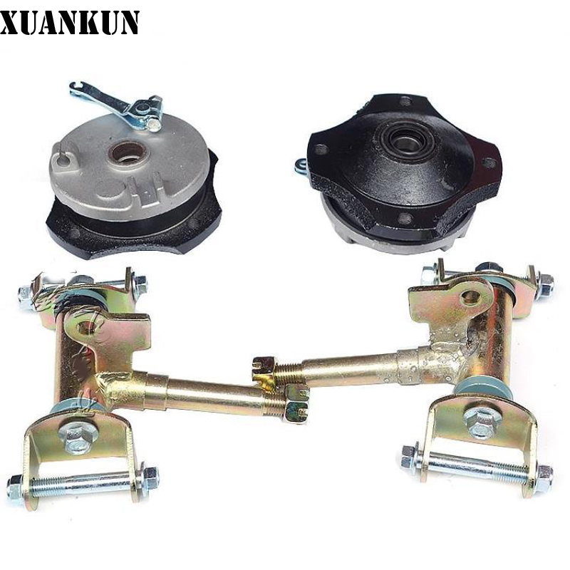 где купить XUANKUN Four Rounds Of Beach Car Accessories Front Drum Brake Cap Claw Assembly Drum Brake Horn по лучшей цене