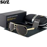 Summer Fashion Oval Sunglasses Man Polarized Sun Glasses Aluminum Alloy Frame Men Driving Glasses Polarizing Mirror