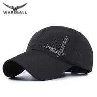 WAREBALL New Summer Baseball Cap 2017 Men Breathable Quick Drying Mesh Snapback Hats Women Sunshade