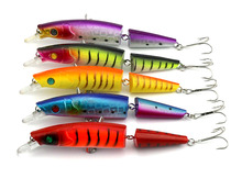 14CM 20.2G Multi Jointed Wobbler Bait 2 Sections Fishing Lure Jerk Cheap Fishing Tackle leurre peche