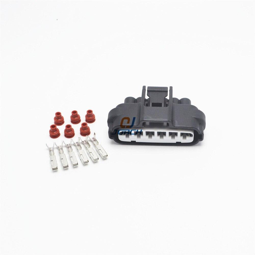 5 sets 6 pin female Toyota Mazda Hilux Accelerator Pedal plug Auto Waterproof font b electronic