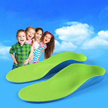 new Kids Orthopedic insoles for Children Flat Foot Arch Supp
