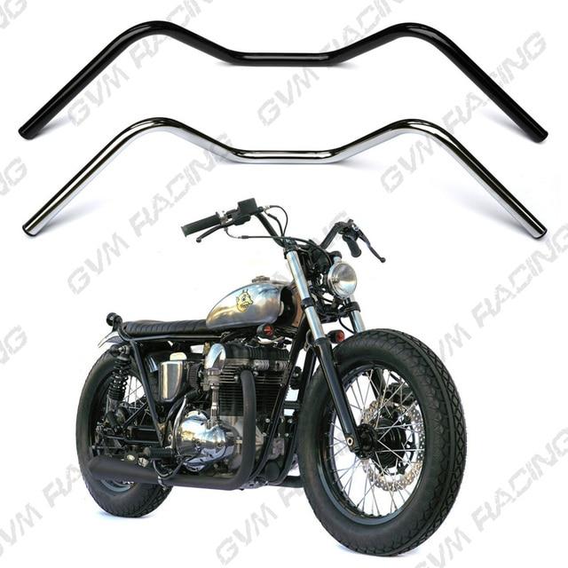 Vintage Drag Style CAFE RACER SCRAMBLER 7 8 22mm Motorcycle Handle Bar Tubes Handlebar