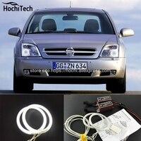 HochiTech BEYAZ 6000 K CCFL Far Halo Melek Iblis Gözler Kiti angel eyes işık Opel Vectra C için 2002 2003 2004