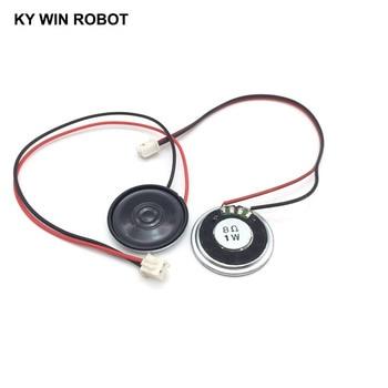 2pcs/lot New Ultra-thin speaker 8 ohms 1 watt 1W 8R Diameter 30MM 3CM thickness 5MM with PH2.54 terminal wire length 20C
