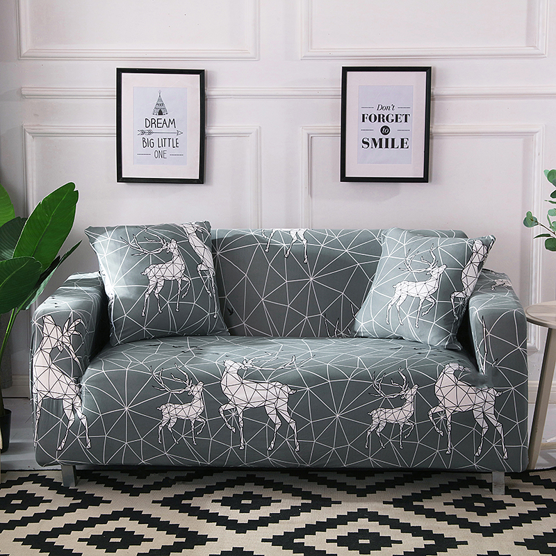 Pleasant Kawaii Sofa Cover Stretch Furniture Covers Housse Canape Geometric Sofa Covers For Living Room Slipcover Copridivano Couch Cover Slipcovers For Ncnpc Chair Design For Home Ncnpcorg