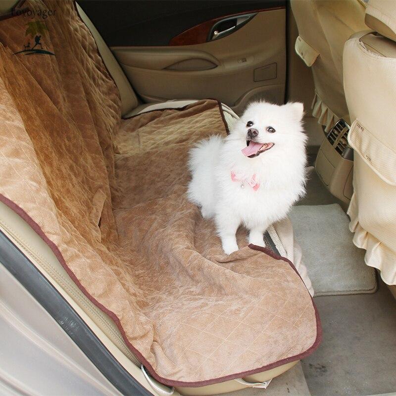 Couverture de siège de voiture de luxe pour animaux de compagnie