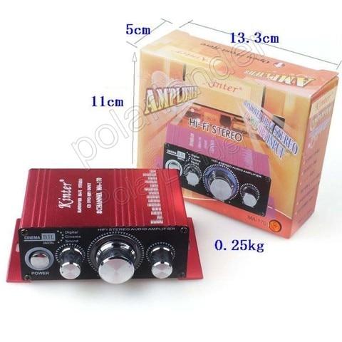 hi fi stereo amplificador 12 v amplificador de