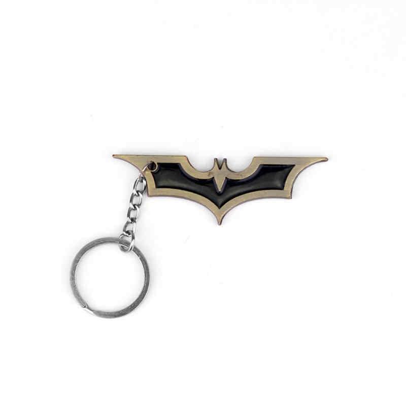 MQCHUN de Super-heróis Da Marvel DC Comics Batman Chaveiros de Metal Chaveiros Para Homens Chaveiro de Metal-50