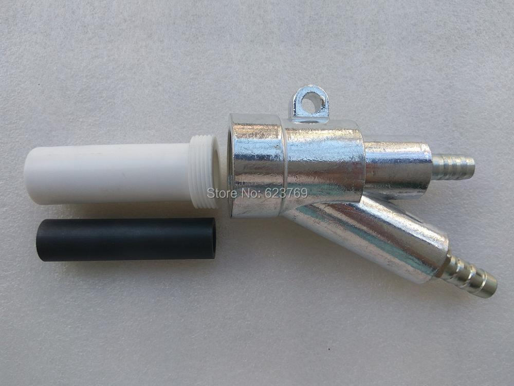 RZZ Sand Blast Gun Kit With 1 Boron Carbide Nozzle L80mm B1 Type Replacement for Sandblaster