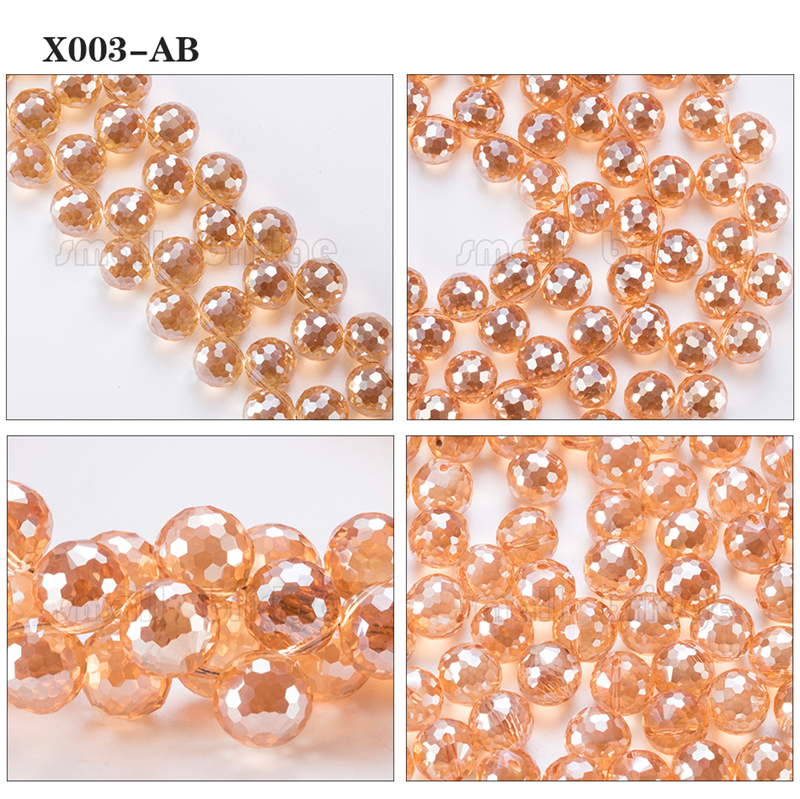Large Crystal Beads (4)