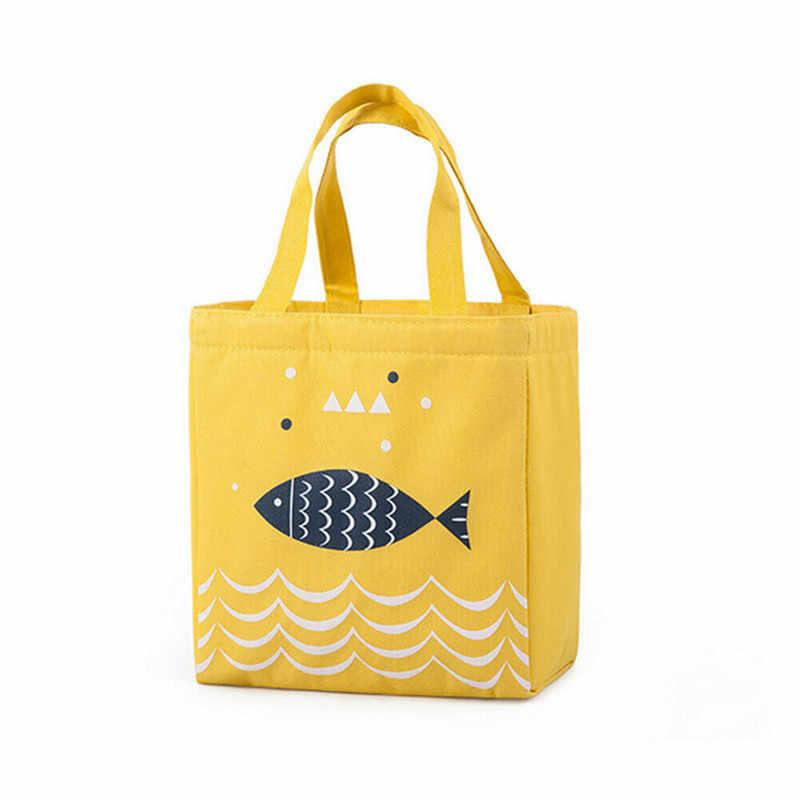 Novo saco de almoço oxford alumínio térmico isolado lancheira manter quente saco refrigerador alta qualidade moda para piquenique