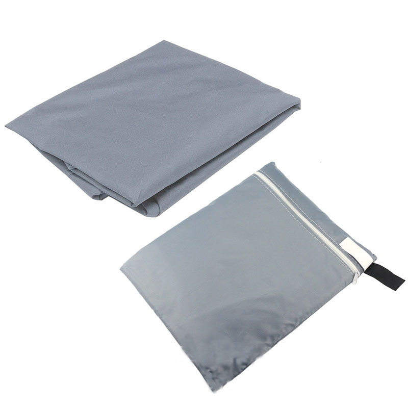 Image 2 - 8 Sizes Silver Waterproof Outdoor Patio Garden Furniture Covers Rain Snow Chair covers for Sofa Table Chair Dust Proof Cover-in All-Purpose Covers from Home & Garden