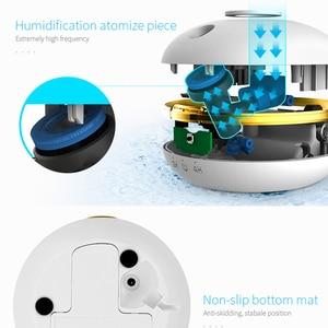 Image 5 - ミニ空気加湿器 usb 車の加湿器ポータブル加湿器加湿器タイミングバッテリーミニミストメーカー humidificador