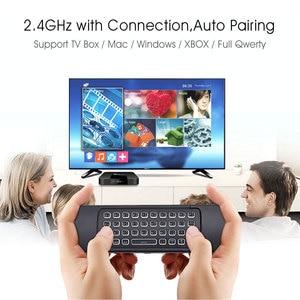 Image 3 - Ratón inalámbrico MX3 Air Mouse, Control remoto por voz, retroiluminado, 2,4G MX3 Pro Teclado inalámbrico, aprendizaje IR para Vontar TV BOX X3 H96 X96 MAX