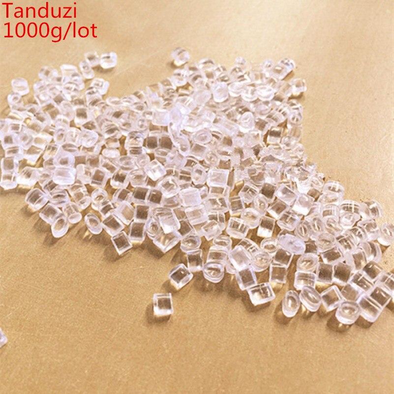 Tanduzi 1000g Wholesale Simulation Food Ice Blocks Mini Plastic Ice Cubes DIY 1 12 Dollhouse Miniature
