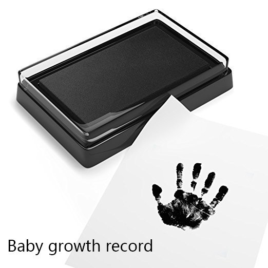 Baby Care Non-Toxic Baby Handprint Footprint Imprint Souvenirs Newborn Footprint Ink Pad Infant Safety Printing Toy Gifts