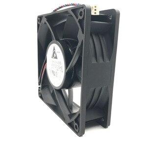 Image 2 - Ventilador do mineiro para a eletrônica delta afb1212ghe 120mm dc 12v 3.24a 3 pinos ventiladores de refrigeração de alta velocidade, 5200rpm 220cfm