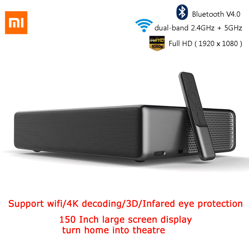 Humoristisch Xiaomi Wemax Een Mjjgyy01fm Ultra Short Throw 1688 Ansi Lumen Laser Projector Bluetooth/voice/touchcontrol 1080 Full Hd 4 K Dobb