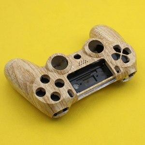 Image 3 - Cltgxdd Voorkant Terug Hard Plastic Bovenste Behuizing Shell Case Met Inner Ondersteuning voor PS4 Draadloze Controller Cover