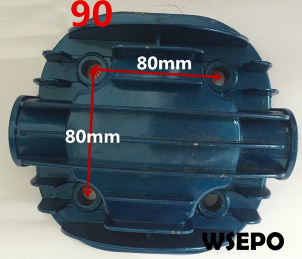 Quality Pneumatic Tools Parts! Cylinder Cover fits for DF90 90mm Bore Size Piston Type Air Compressor цены