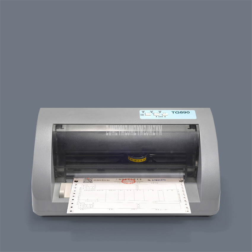 TG890 Dot Matrix Needle Type Dot Matrix Printer Express Delivery Bill Electric Office Tax Invoice Printer USB 1+5P Copy AbilityTG890 Dot Matrix Needle Type Dot Matrix Printer Express Delivery Bill Electric Office Tax Invoice Printer USB 1+5P Copy Ability