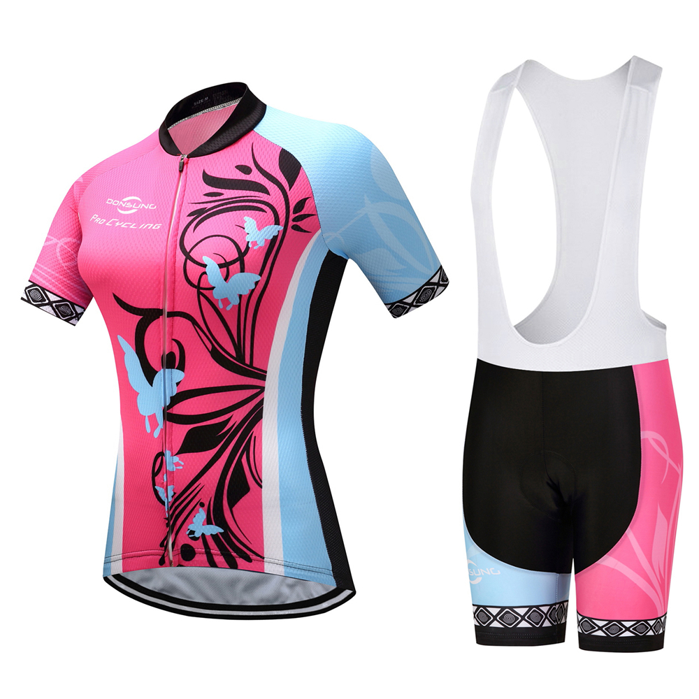Cycling Jersey 2018 Pro Team women Cycling Clothing Breathable Bike jersey Set Bicycle Mountain Wear Mtb Clothes Ropa Ciclismo