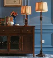 Retro Creative Iron Floor Lamp Living Room Bedroom Bedside Room American Style Hollow Heart Shape Resin E27 Floor Lamps