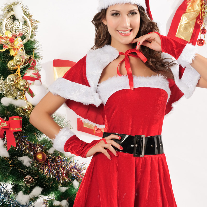 New Year Costume Christmas Costume Adult Woman Fantasy Sex -7603