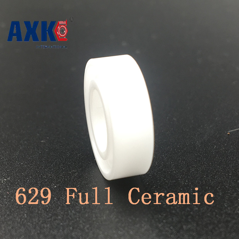 Axk 629 Full Ceramic Bearing ( 1 Pc ) 9*26*8 Mm Zro2 Material 629ce All Zirconia Ceramic Ball Bearings 15268 ceramic wheel hub bearing zro2 15268 15 26 8mm full zro2 ceramic bearing