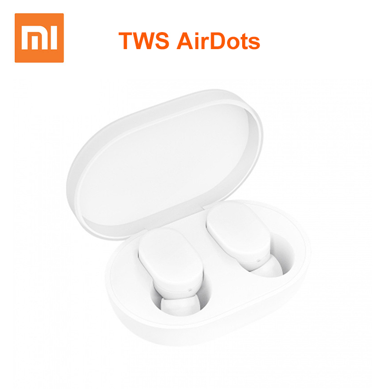 Xiaomi AirDots TWS Bluetooth Earphones Wireless In ear Earbuds Earphone Headset with Mic and Charging Dock