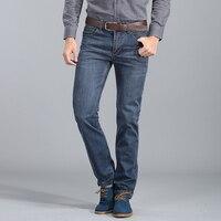 2018 Printemps Automne Au Détail et En Gros de Bonne Qualité Denim Jeans Hommes, Vente chaude Casual Droites Slim Coton Hommes Jeans
