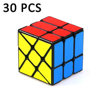 30 шт. Yongjun YJ Professional странная форма магический куб головоломка куб скорость Neo Cubo Магическая наклейка обучающие игрушки для детей