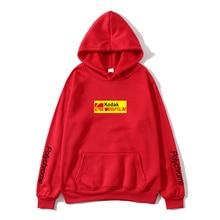 New 2019 sports hoodie sweatshirt mens and womens fashion brand autumn winter street Hip Hop Kodak ladies