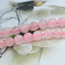 Lovely Pink Crystal 10mm Round loose beads DIY stone parts Accessories suitable for women jewelry making Wholesale and retail