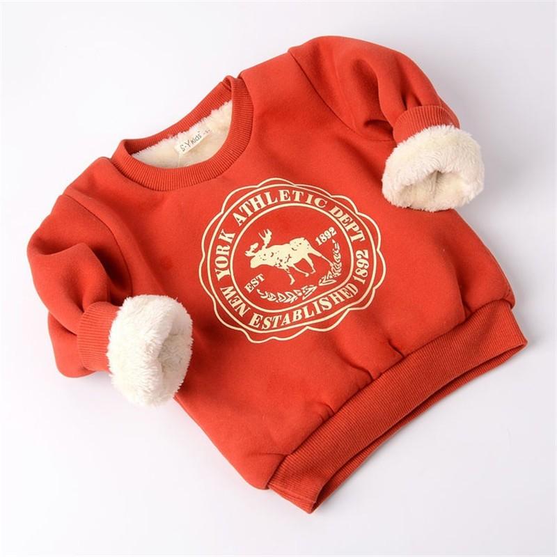 BibiCola baby Cartoon sweaters Kids Girls Boys Long Sleeve Casual Thicken warm shirt newborn Clothes spring autumn warm wear