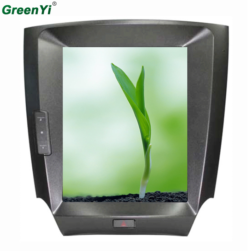 GreenYi Quad Core 10.4 pouces écran Vertical Android 6.0 autoradio GPS Fit LEXUS IS250 IS300 IS350 2005 2006 2007 2008 2009 2010