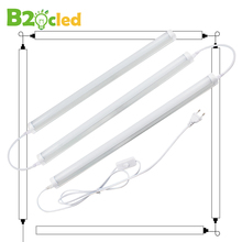T8 LED Shop Light Tube Linkable Integrated 2ft 9W 6000K 3000K AC85-265V 5.9 Feet Power Extension Cord ON/OFF Switch Connector EU t8 t5 three core integrated lamp tube connector with switch power supply line led lamp socket plug eu connection line