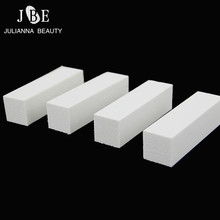 5Pcs Lot Hot White Forms For Buffing Sanding Files Polishing 4 Way Block Pedicure Manicure Care