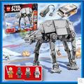 NEW LEPIN 05050 1137pcs AT-AT the robot Model Building blocks Bricks Classic Compatible 75054 Boys Gift Star Wars Power motor