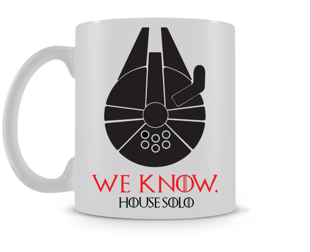 House Solo Mug / Game of Thrones Star Wars coffee mugs ceramic Tea travel home decal kitchen kids gifts mugen
