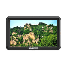 LILLIPUT 665/P 7 inch Digital Camera Monitor with Advanced Functions, HDMI input and BNC Video output