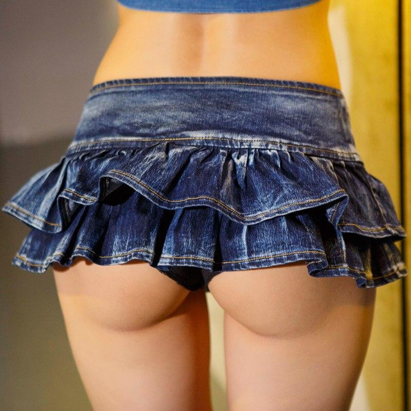 Sexy Jean Skirt 52