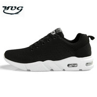 YUG Running Shoes For Men Sport Shoes Woman Spring Summer Flywire Barefoot Shoes Breathable 2017 Air